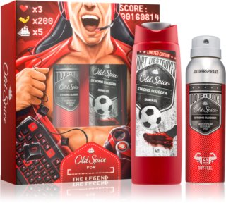 Old Spice Odour Blocker Strong Slugger Geschenkset I.