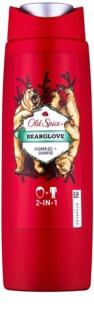 Old Spice Bearglove Duschgel für Herren 250 ml