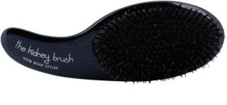 Olivia Garden The Kidney 100% Boar Styler brosse à cheveux