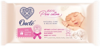 Onclé Baby Wet Cleansing Wipes For Children From Birth