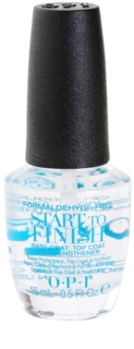 OPI Start To Finish base e secante para verniz 3 em 1