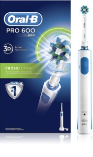 Oral B Pro 600 D16.513 CrossAction spazzolino da denti elettrico