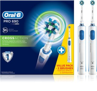 Oral B PRO 690 CrossAction D16.524H escova de dentes eléctrica