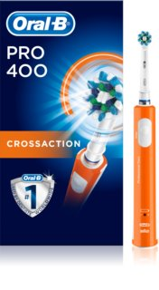 Oral B Pro 400 D16.513 CrossAction Orange Electric Toothbrush
