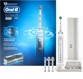 Oral B Genius 9000 White D701.545.6XC Electric Toothbrush