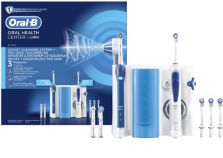 Oral B Oxyjet + PRO 2000 електрическа четка за зъби и душ за уста в едно