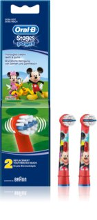 Oral B Stages Power EB10 Mickey Mouse nadomestne glave za zobno ščetko ekstra soft