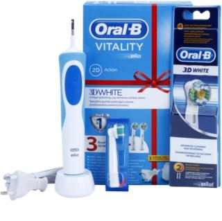 Oral B Vitality 3D White D12.513W elektrische Zahnbürste