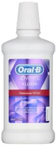 Oral B 3D White Luxe Mundwasser für strahlende Zähne