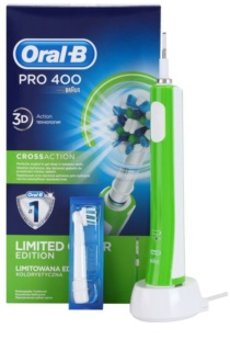 Oral B Pro 400 D16.513 CrossAction Green Electric Toothbrush