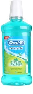Oral B Complete szájvíz foglepedék ellen az egészséges ínyért