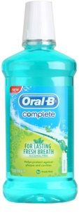 Oral B Complete Healthy Gum Mouthwash against Plaque