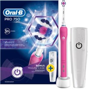 Oral B Pro 750 D16.513.UX 3D White електрическа четка за зъби