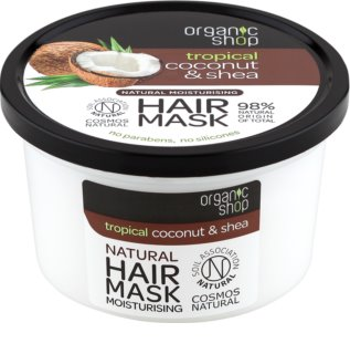 Organic Shop Natural Coconut & Shea Intensive Hair Mask with Moisturizing Effect
