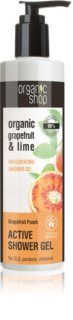 Organic Shop Organic Grapefruit & Lime активен душ-гел