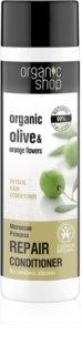 Organic Shop Organic Olive & Orange Flowers acondicionador regenerador para cabello