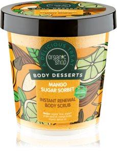 Organic Shop Body Desserts Mango Sugar Sorbet