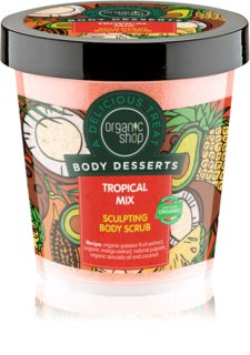 Organic Shop Body Desserts Tropical Mix Slimming Body Scrub