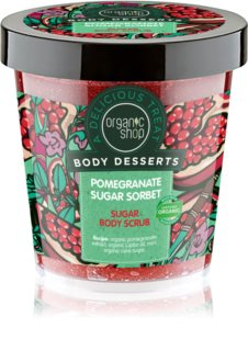 Organic Shop Body Desserts Pomegranate