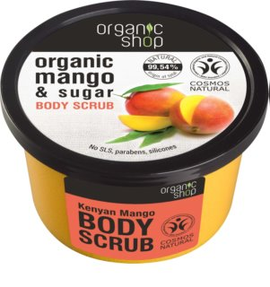 Organic Shop Body Scrub Mango & Sugar сраб за тяло за копринена кожа