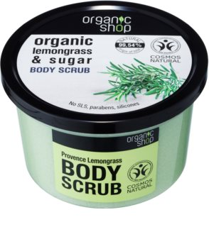 Organic Shop Organic Lemongrass & Sugar Gentle Scrub for Body