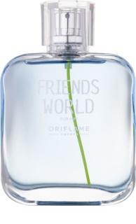 Oriflame Friends World Eau de Toilette für Herren 75 ml