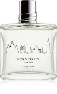 Oriflame Born To Fly Eau de Toilette für Herren 75 ml