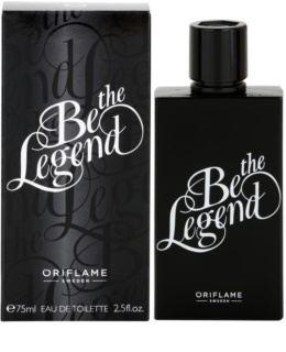 Oriflame Be the Legend eau de toilette uraknak 75 ml