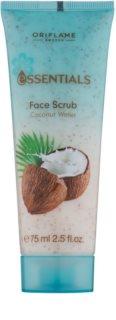 Oriflame Essentials descuamarea pielii cu cocos