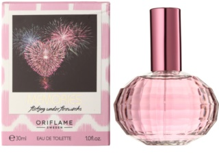Oriflame Memories: Flirting Under Fireworks Eau de Toilette für Damen 30 ml