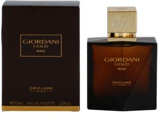 Oriflame Giordani Gold Man eau de toillete για άντρες 75 μλ