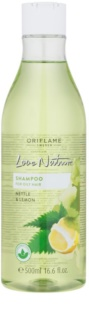 Oriflame Love Nature Shampoo für fettiges Haar