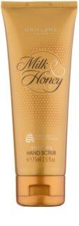 Oriflame Milk & Honey Gold peeling do rąk