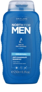 Oriflame North For Men šampon proti lupům