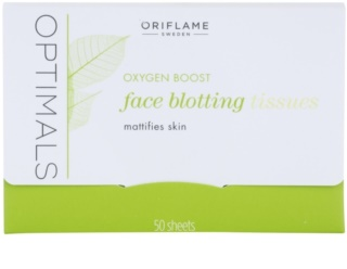 Oriflame Optimals Oxygen Boost papeles matificantes