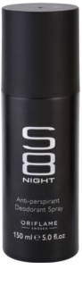 Oriflame S8 Night deospray za muškarce 150 ml