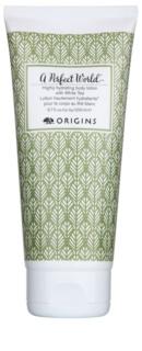 Origins A Perfect World™ високо хидратиращ лосион за тяло с бял чай
