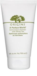 Origins A Perfect World™ crema-espuma limpiadora  con té blanco