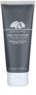 Origins Clear Improvement® čistiaca maska pre redukciu kožného mazu a minimalizáciu pórov