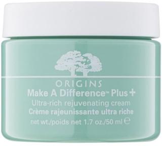 Origins Make A Difference™ подмладяващ крем за суха кожа
