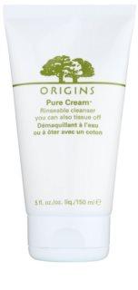 Origins Pure Cream™ oczyszczający żel do demakijażu o dzłałaniu nawilżającym