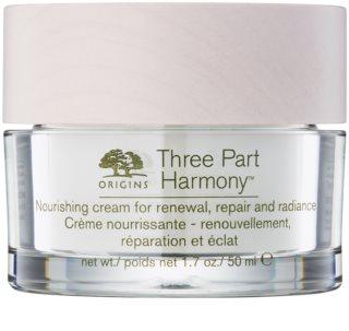 Origins Three Part Harmony™ Voedende crème voor versteviging met verhelderende effect