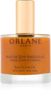 Orlane Sun Glow csillogó olaj arcra, testre és hajra