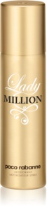 Paco Rabanne Lady Million deospray pro ženy 150 ml