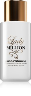 Paco Rabanne Lady Million lait corporel pour femme 200 ml