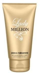 Paco Rabanne Lady Million leite corporal para mulheres 150 ml