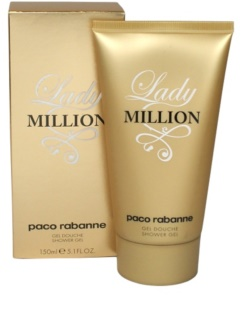 Paco Rabanne Lady Million gel de duche para mulheres 150 ml