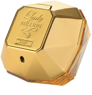 Paco Rabanne Lady Million Absolutely Gold parfém pro ženy 80 ml