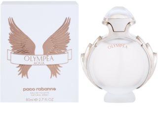 Paco Rabanne Olympea Aqua toaletní voda pro ženy 80 ml