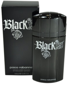 Paco Rabanne Black XS  after shave para homens 100 ml